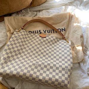 louis vuitton graceful mm handbag